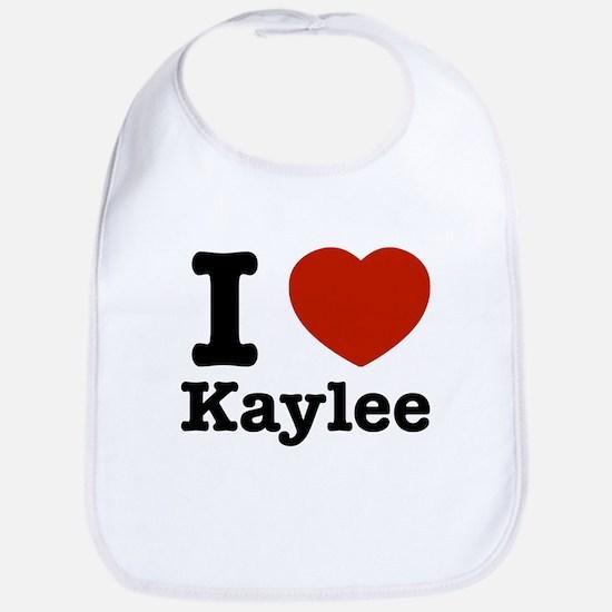 I love Kaylee Bib