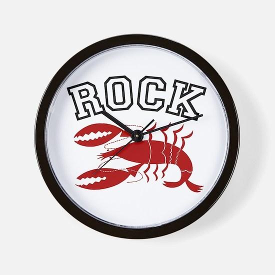 Rock Lobster Wall Clock