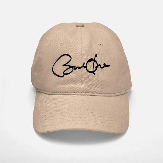 Barack Obama Autograph Baseball Baseball Cap