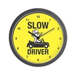 Slow Driver Wall Clock