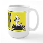 Slow Driver Large Mug