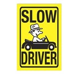 Slow Driver Postcards (Package of 8)