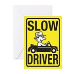 Slow Driver Greeting Cards (Pk of 20)