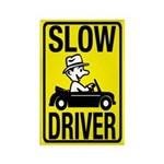 Slow Driver Rectangle Magnet (100 pack)