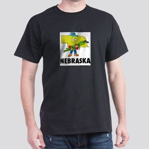 Nebraska Fun State Dark T-Shirt