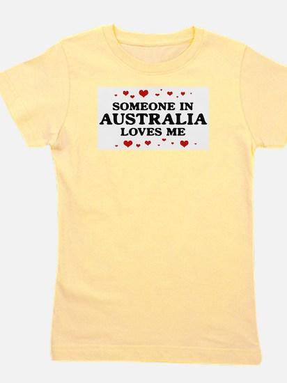 Loves Me in Australia White T-Shirt
