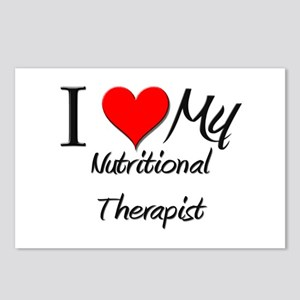 I Heart My Nutritional Therapist Postcards (Packag