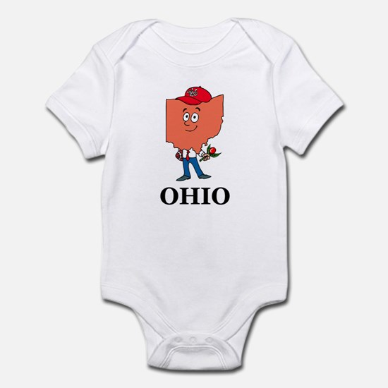Ohio Fun State Infant Bodysuit