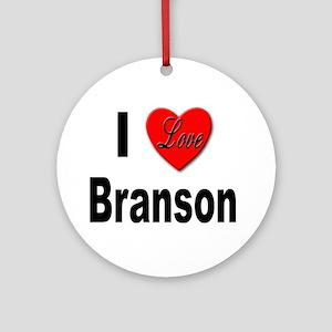 I Love Branson Missouri Keepsake (Round)