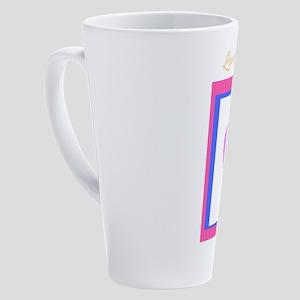 Valentine's day lovely design 17 oz Latte Mug