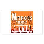 NITROUS Rectangle Sticker