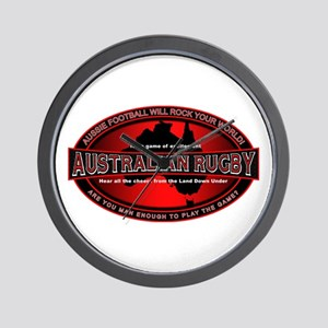 Australian Rugby Wall Clock
