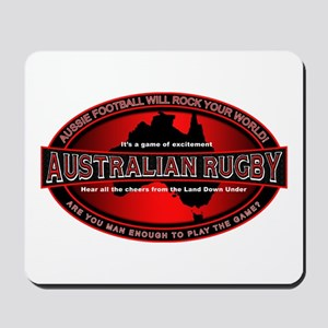 Australian Rugby Mousepad