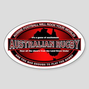 Australian Rugby Oval Sticker