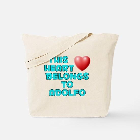 This Heart: Adolfo (E) Tote Bag