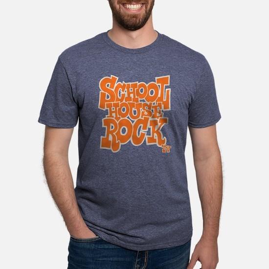 2-schoolhouserock_orange_REVERSE T-Shirt