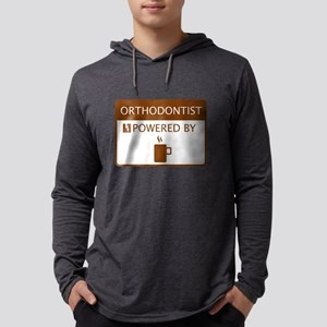 Orthodontist Powered by Coffee Long Sleeve T-Shirt