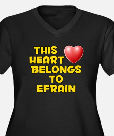 This Heart: Efrain (D) Women's Plus Size V-Neck Da