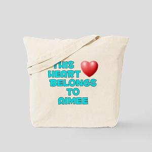 This Heart: Aimee (E) Tote Bag
