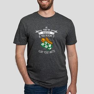 Clap Your Mitts Mens Tri-blend T-Shirt