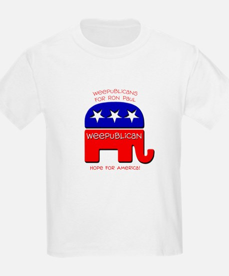 Weepublicans for Ron Paul T-Shirt