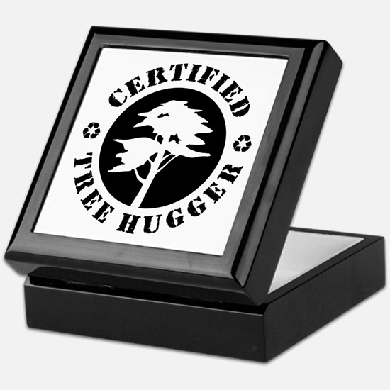 Certified Tree Hugger Keepsake Box