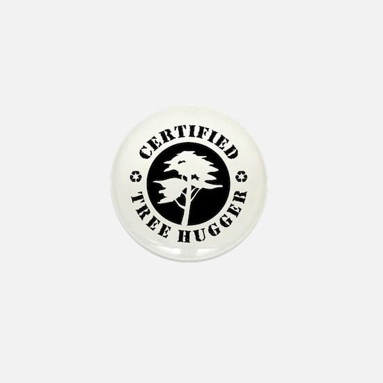 Certified Tree Hugger Mini Button