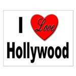 I Love Hollywood Small Poster
