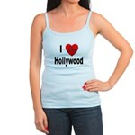 I Love Hollywood Jr. Spaghetti Tank