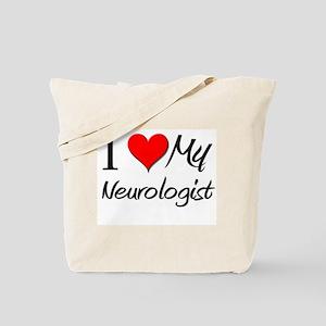 I Heart My Neurologist Tote Bag