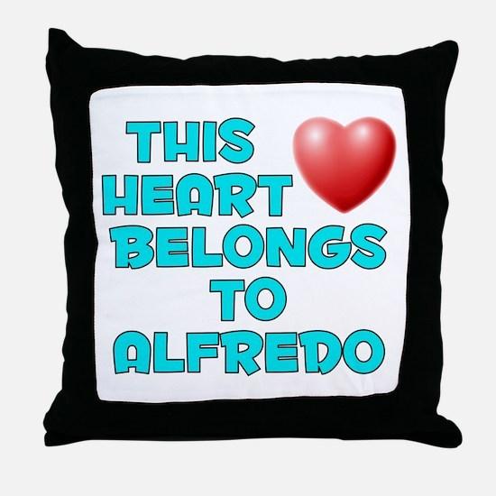 This Heart: Alfredo (E) Throw Pillow