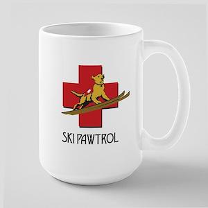SKI PAWTROL Large Mug
