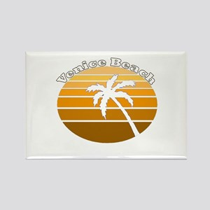 Venice Beach, California Rectangle Magnet