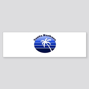 Santa Barbara, California Bumper Sticker