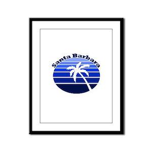 Santa Barbara, California Framed Panel Print