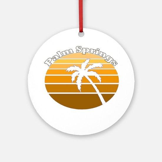 Palm Springs, California Ornament (Round)