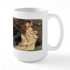 The Lady Ophelia Large Mug