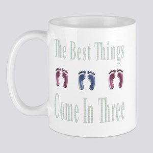 best things come in three Mug