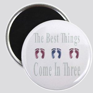 best things come in three Magnet