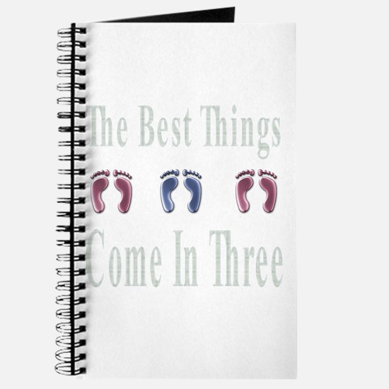 best things come in three Journal