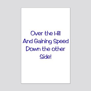 Over the Hill Mini Poster Print