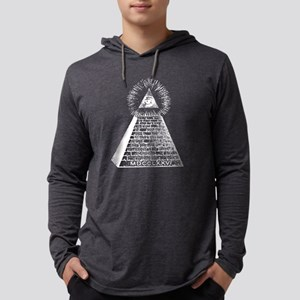 Eye in the Pyramid $1 Bil Long Sleeve T-Shirt