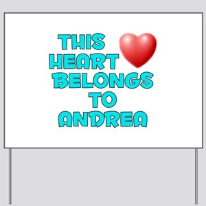 This Heart: Andrea (E) Yard Sign