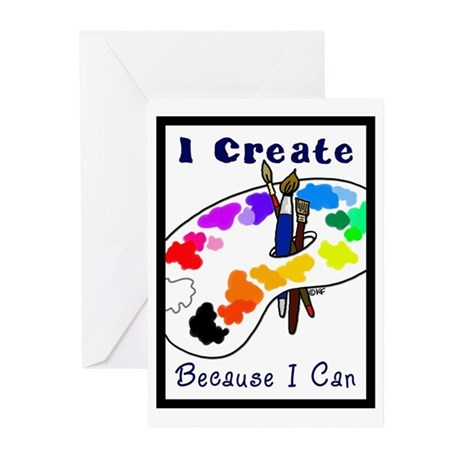 I create Greeting Cards (Pk of 10)