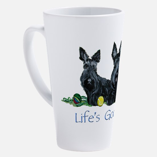 Cute Scottish terrier lover 17 oz Latte Mug