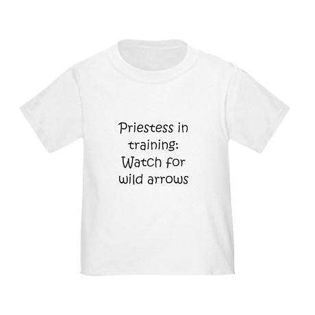 Priestess Training Arrows Bla Toddler T-Shi