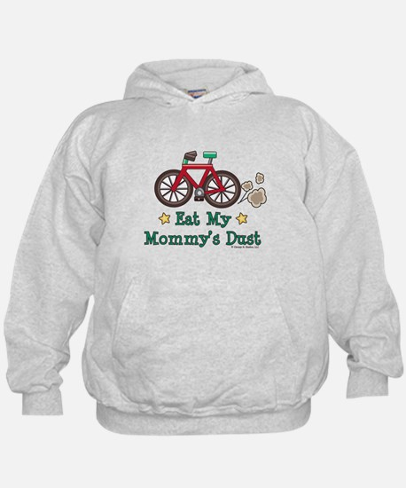 Mommy's Dust Cycling Bicycle Hoodie