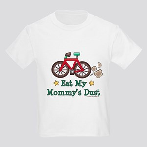Mommy's Dust Cycling Bicycle Kids Light T-Shirt