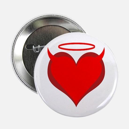 """Saint or Sinner Valentine 2.25"""" Button (10 pack)"""