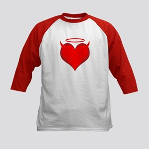Saint or Sinner Valentine Kids Baseball Jersey